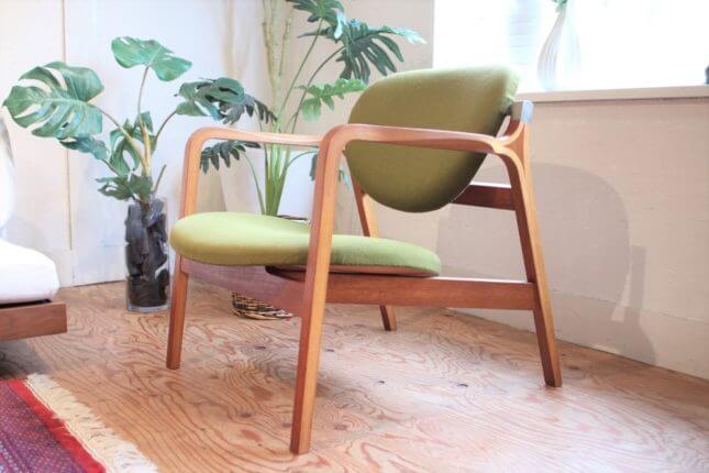 天童木工 安楽椅子 坂倉準三 長大作