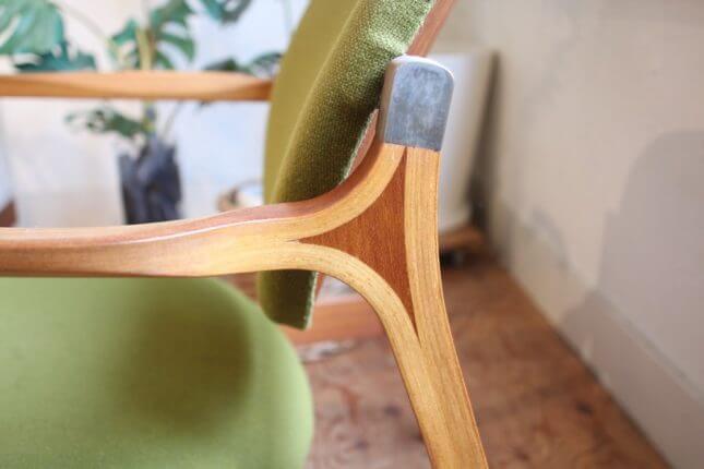 天童木工 コマ入れ成型合板 安楽椅子