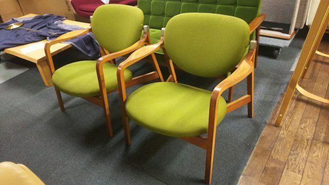 国立西洋美術館の椅子 天童木工