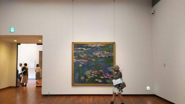 国立西洋美術館 モネ 睡蓮