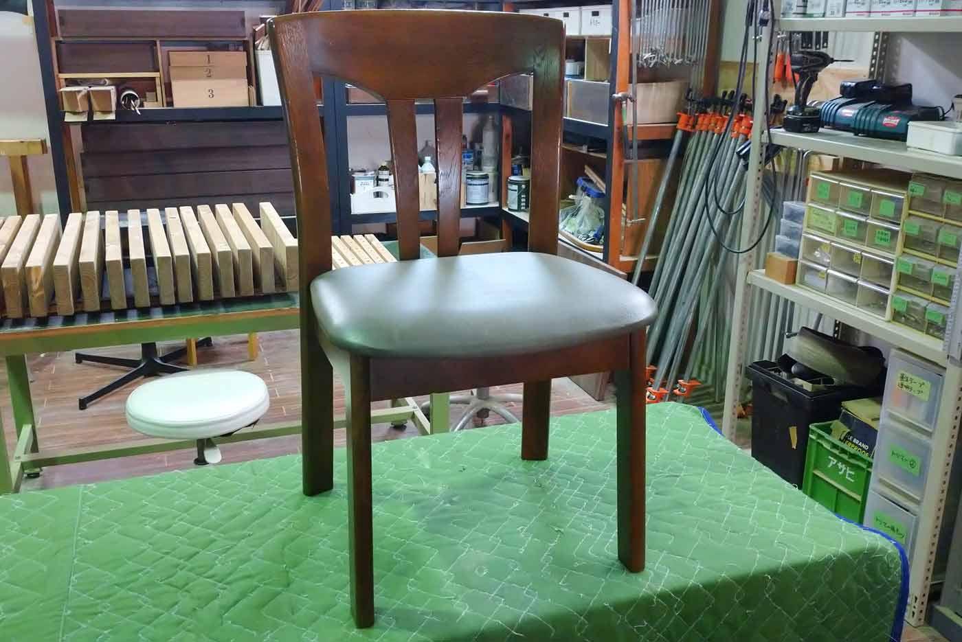 M様 椅子 ぐらつき 修理