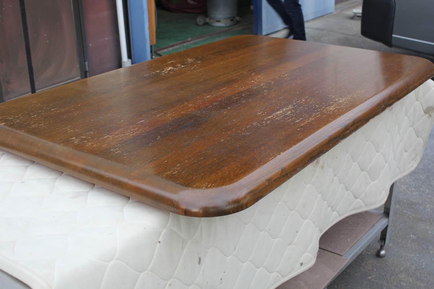 テーブル 天板削り 修理