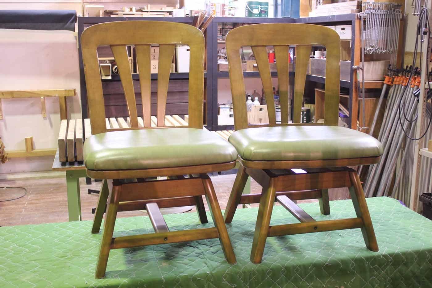S様 椅子 座面張替え 修理