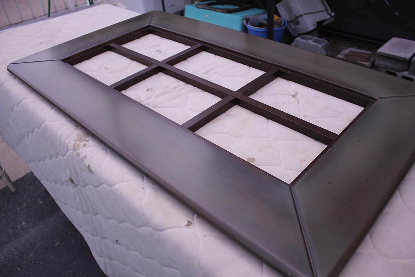 Y様 テーブル 天板削り 修理