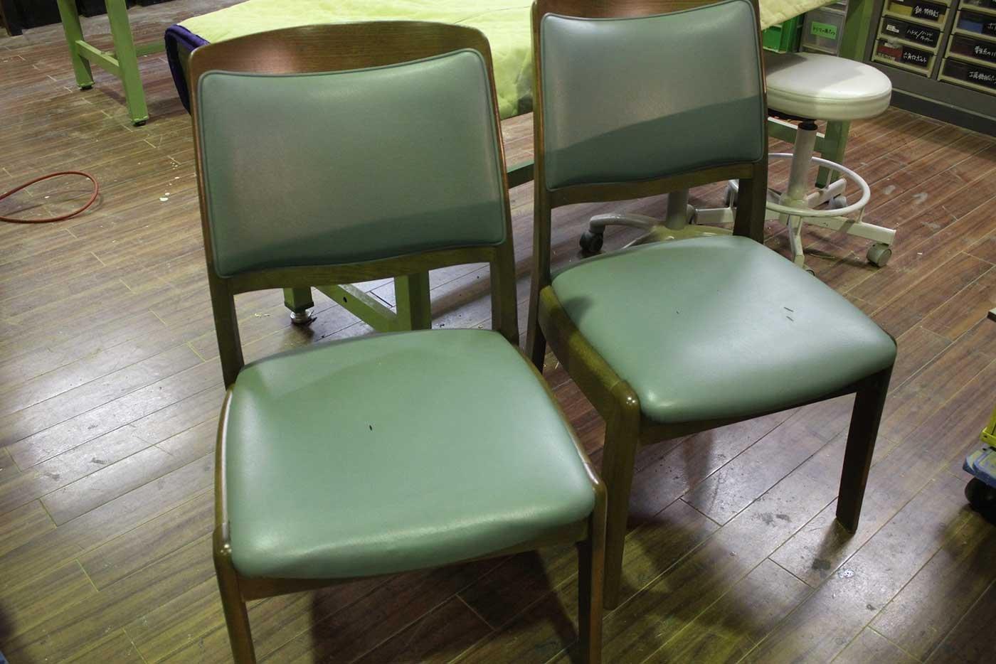 I様 椅子 張り替え 修理